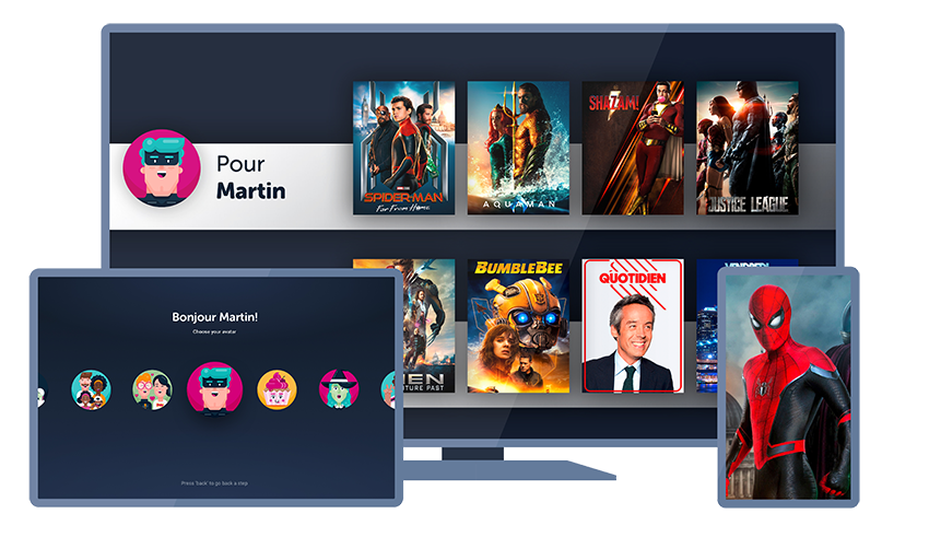 VOO TV+ ContentWise