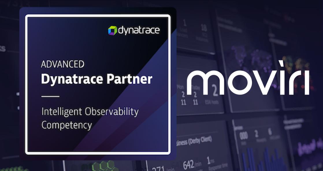 Dynatrace Moviri Observability Badge Banner