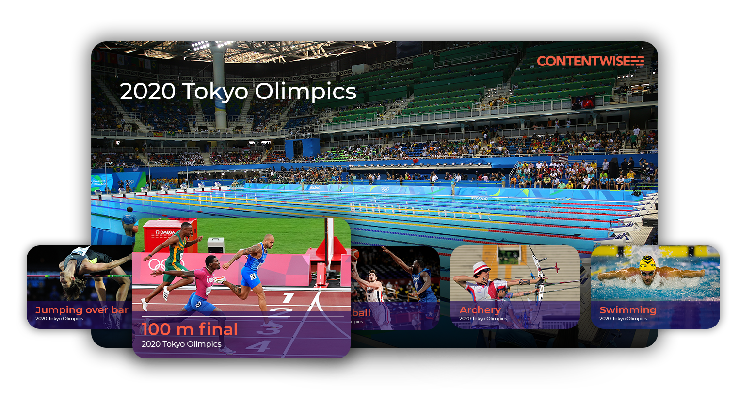 ContentWise Streaming Tokyo2020