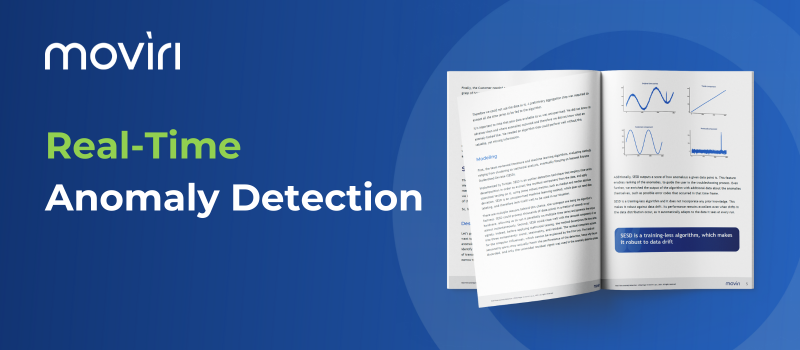 Moviri Real-Time Anomaly Detection White paper