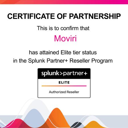 Splunk Elite Partner Moviri